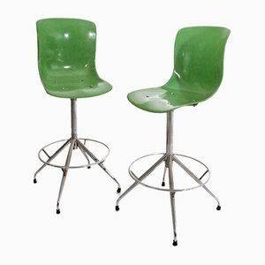 Vintage Bar Stools, Set of 2