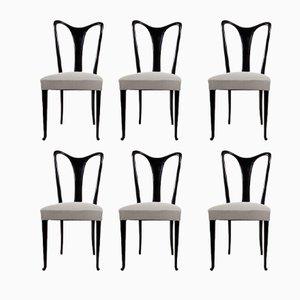 Chaises de Salon par Guglielmo Ulrich, 1940s, Set de 6