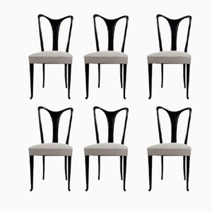 Dining Chairs by Guglielmo Ulrich, 1940s, Set of 6