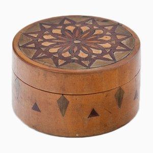 Caja alemana antigua