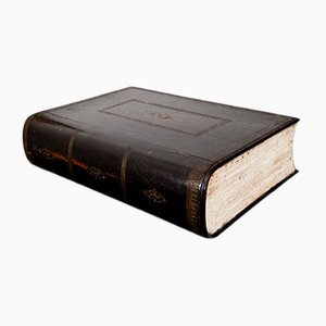 Scatola a forma di libro, Francia, XIX secolo