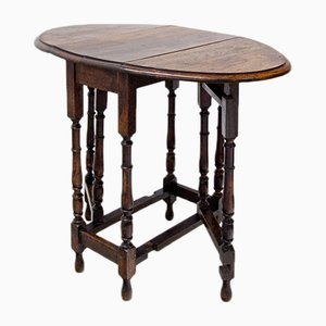 19th-Century Gate-Leg Side Table