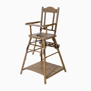 Antique Children's High Chair