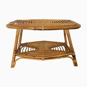 Tavolo da giardino in bambù, anni '70
