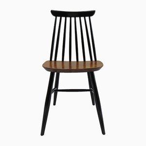 Black & Walnut Dining Chair, 1950s