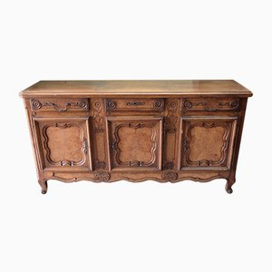 Antique Style French Walnut Buffet, 1950s