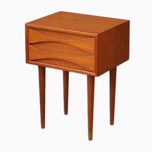 Table de Chevet Vintage par Arne Vodder, 1960s