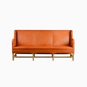 Sofá de tres plazas modelo 5011 vintage de Kaare Klint para Rud. Rasmussens, 1935