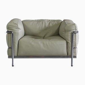 Vintage LC3 Sessel von Le Corbusier für Cassina, 1980er
