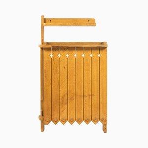 Consola vintage de Guillerme e Chambron para Votre Maison, años 50