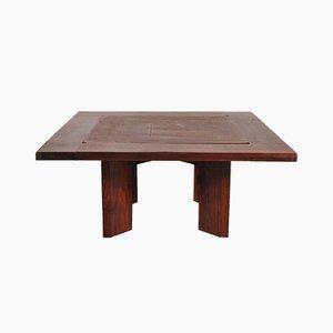 Großer italienischer Spieltisch aus Palisander, 1960er