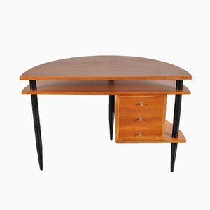 Mid-Century Schreibtisch aus Holz, 1950er