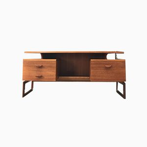 Quadrille Teak Desk by R. K. Bennet for G-Plan, 1960s