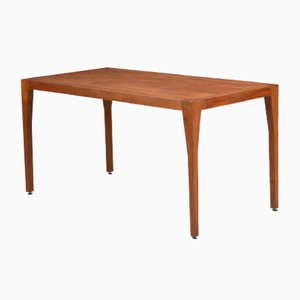 Large Mid-Century Teak Desk by Hans J. Wegner for Johannes Hansen, 1960s
