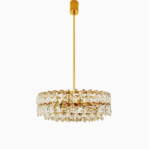 Gilded Chandelier from Bakalowits & Söhne, 1960s