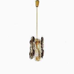 Lámpara colgante Citrus de JT Kalmar para Kalmar Franken KG, años 60
