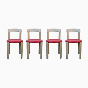 Vintage Chairs by Bruno Rey for Kusch+Co, 1960s, Set of 4