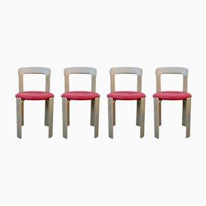 Vintage Stühle von Bruno Rey für Kusch + Co, 1960er, 4er Set