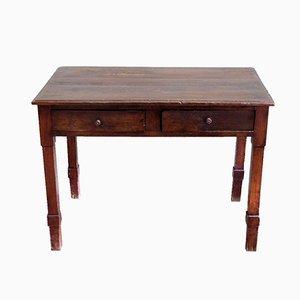 Tavolino da caffè in legno di castagno, anni '20