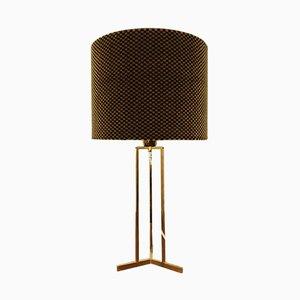 Tischlampe aus Messing, 1950er