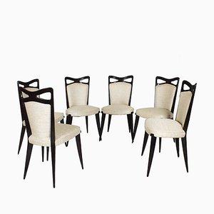 Chaises de Salle à Manger, France, 1950s, Set de 6