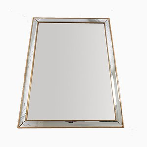 Large Hollywood Regency Mirror by Deknudt, 1970s
