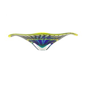 Murano Glass Reticello Bowl by Valter Rossi, 2019