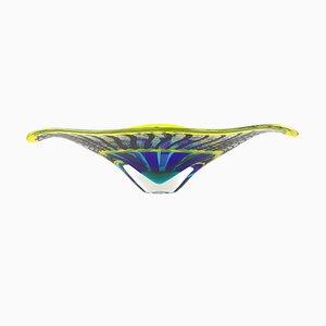 Reticello Schale aus Muranoglas von Valter Rossi