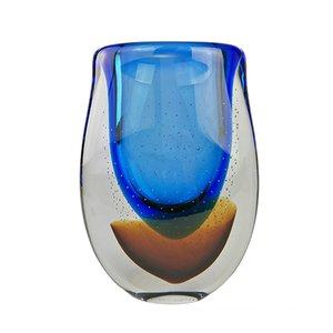 Jarrón Universe de cristal de Murano de Valter Rossi