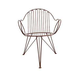 Metal Garden Chair from Mauser, 1953