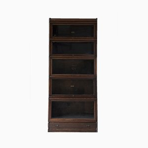 Antique Oak Stacked Bookcase from Globe Wenicke Co.
