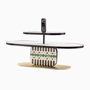 Tavolino da caffè Maniace di Elena Salmistraro per Lithea