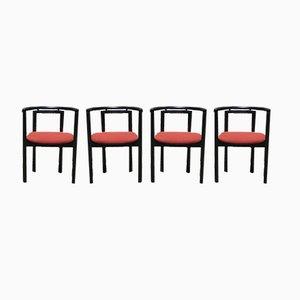 070GH Esszimmerstühle von Geoffrey Harcourt für Artifort, 1980er, 4er Set