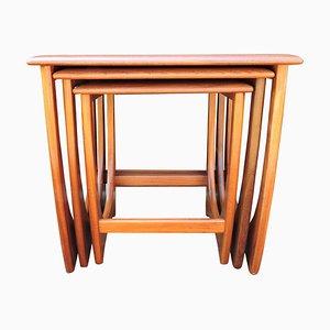 Tavolini ad incastro Astro di G-Plan, anni '60
