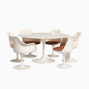Juego de comedor de Eero Saarinen para Knoll Inc., años 60