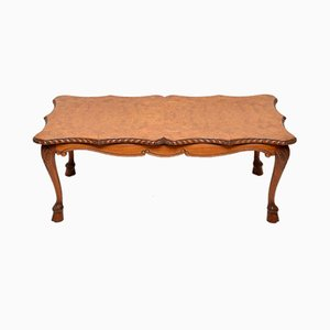 Burr Walnut Coffee Table, 1920s
