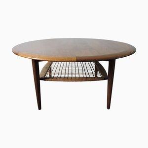 Table Basse Mid-Century par Johannes Andersen pour CFC Silkeborg, 1960s