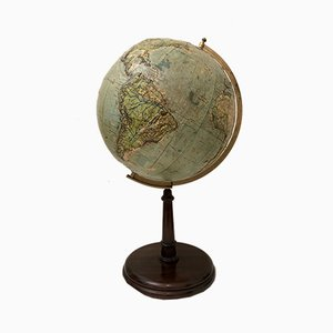 Vintage Relief Globe from Vallardi