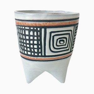 Vase Molaire Vintage par Roger Capron, 1957
