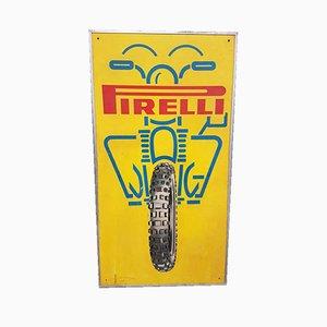 Großes Mid-Century Pirelli Schild