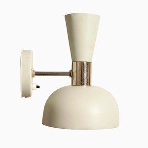 Lámpara de pared doble diábolo de Herda, años 60
