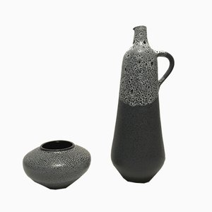 Vintage Vases by Siegfried Gramann for Töpferei Römhild, Set of 2