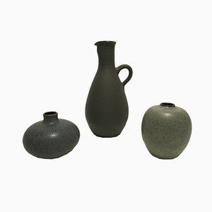 Vintage Vasen von Siegfried Gramann für Töpferei Römhild, 3er Set
