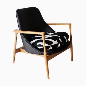 Moderne Mid-Century Sessel mit Gestell aus Eiche von Ib Kofod-Larsen, 1960er, 2er Set