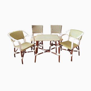 Vintage French Bistro Dining Set