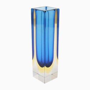 Mid-Century Italian Sommerso Vase by Alessandro Mandruzzato for Seguso, 1960s