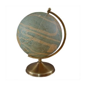 Globe with Internal Lighting from Perrina, 1940s