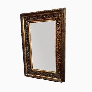 Espejo antiguo enmarcado