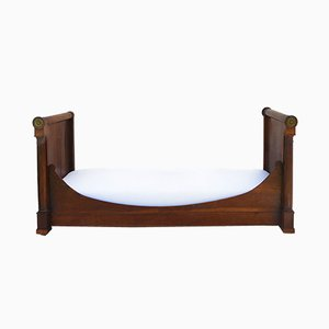 French Empire Mahogany Daybed, 1850s