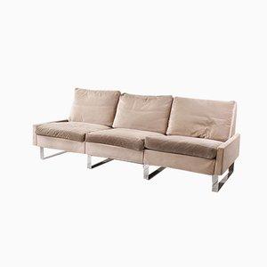 Vintage Space Age Conseta 3-Sitzer Sofa von F.W. Möller für Cor, 1970er